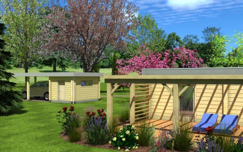 Drevěné domy