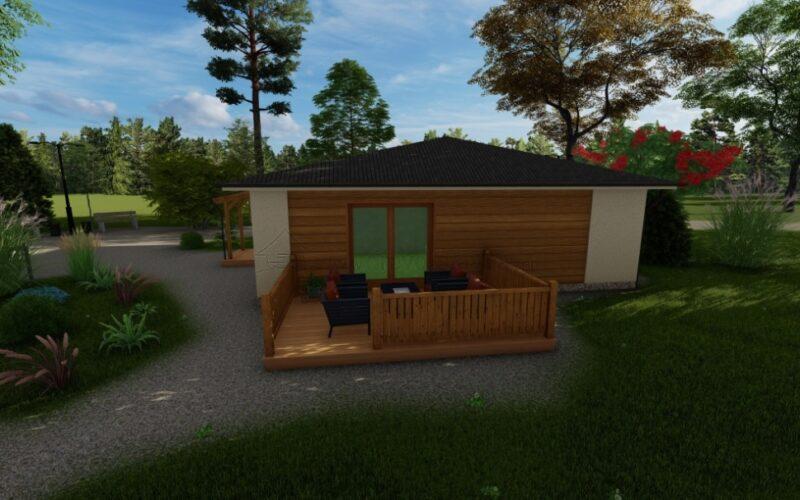 Drahlov KVH - dřevostavba