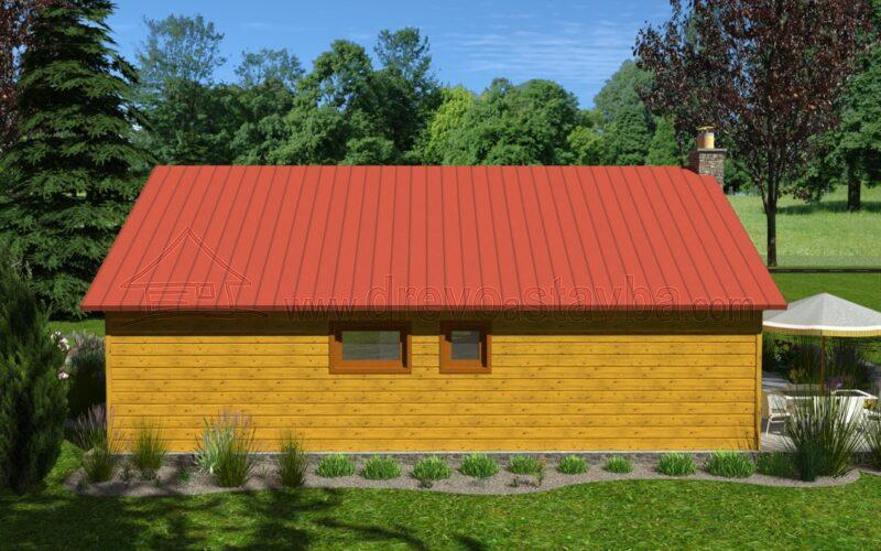 Dřevěný dům na klíč