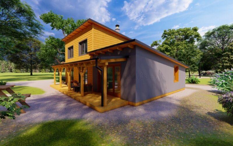 Moderní dřevostavby