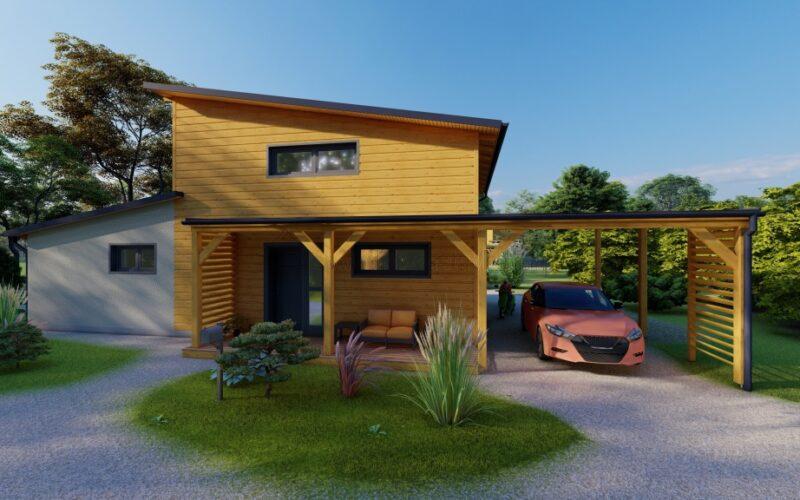 Modulové dřevostavby