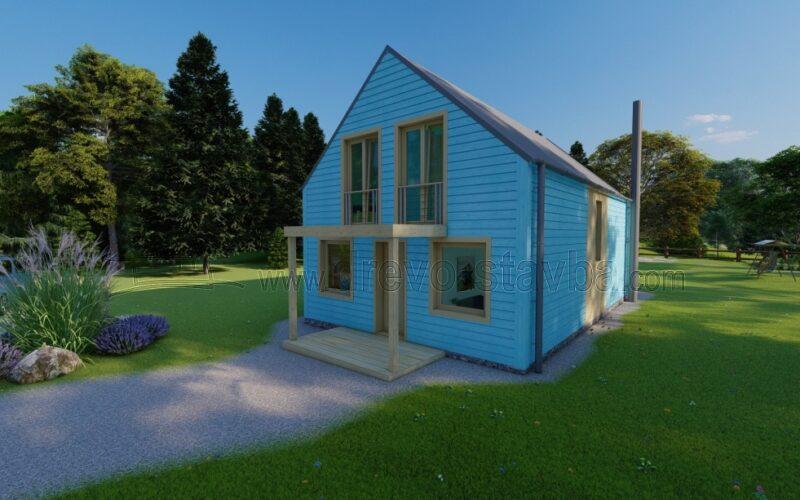 Dřevěné domy