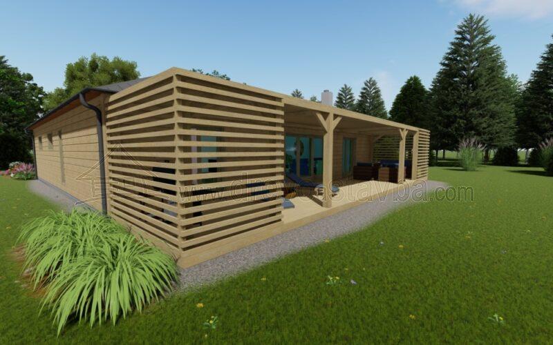 RD Alena - dřevostavba