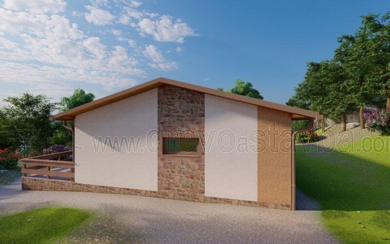 RD Cvrčovice - dřevostavby