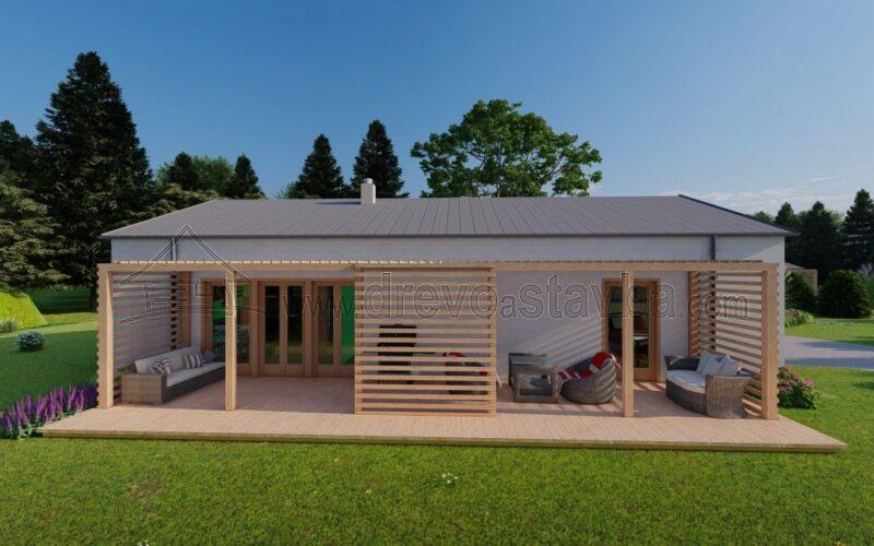 RD Florián - moderní bungalov