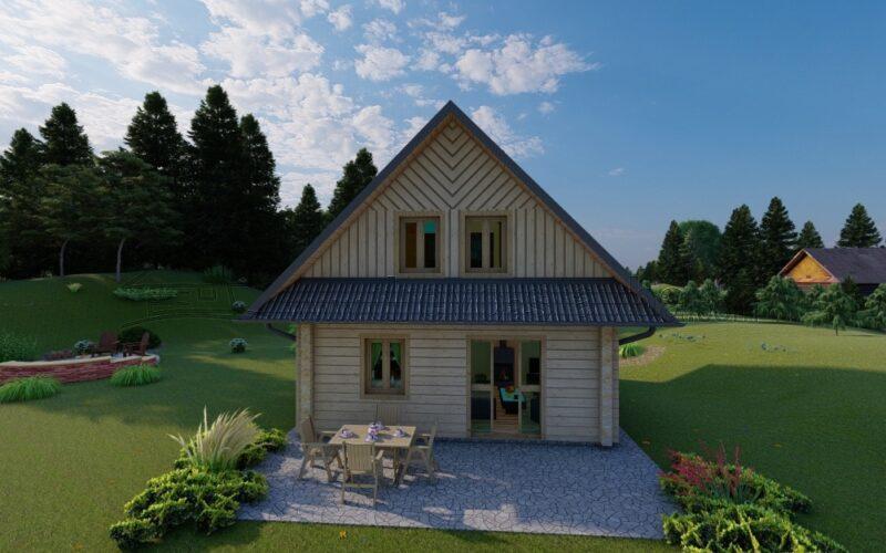 RD Milena - patrový dům