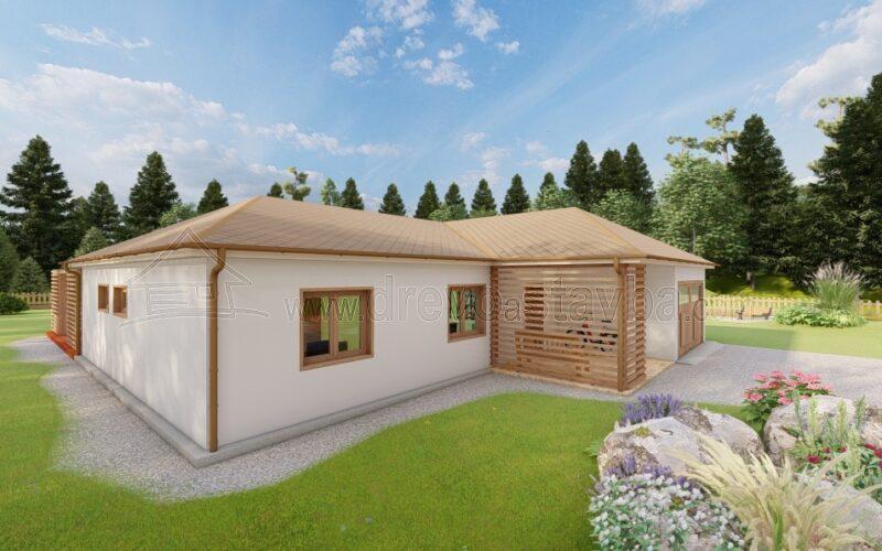 RD Rozálie - dřevěný dům