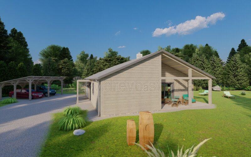 RD Světlana - Dřevěný dům na klíč