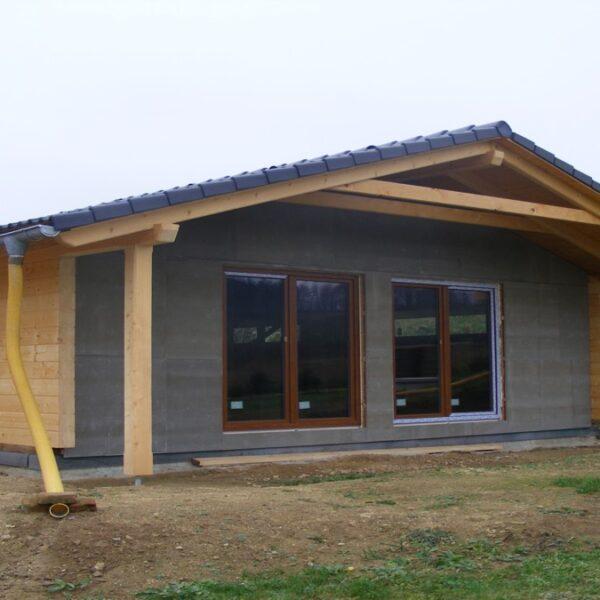 bungalov s garazi