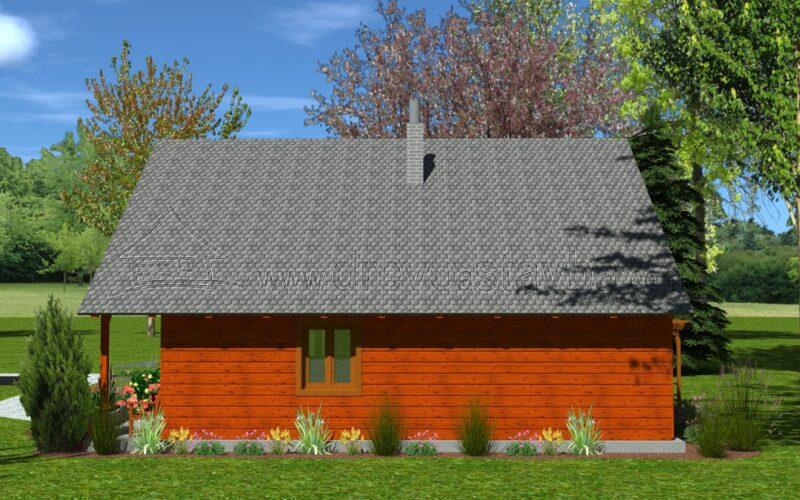 Dřevostavba chaty