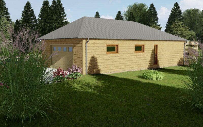 Moderní bungalovy