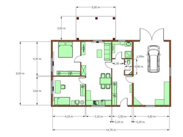 Stavby domu na klíč