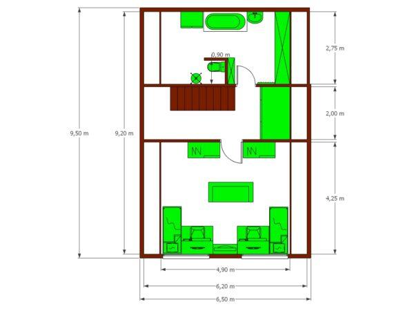 RD Radana - patrový dům na klíč